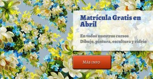 matricula gratis abril