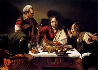 Michelangelo_Merisi_da_Caravaggio_-_Supper_at_Emmaus_-_WGA04142